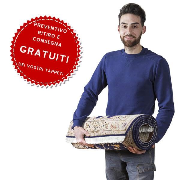 Lavaggio tappeti servizio a domicilio con ritiro e consegna a Milano