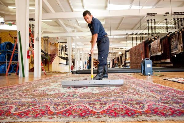 Il nostro centro per il lavaggio tappeti a Milano