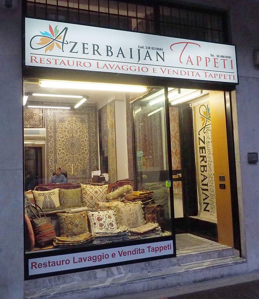 Il nostro negozio di tappeti in zona Sempione a Milano